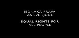 Jednaka prava za sve ljude