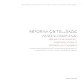Policy brief Obiteljski zakon